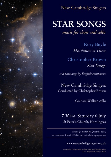 Star songs Horningsea