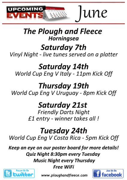 Upcoming Events flyer 2014 june page001